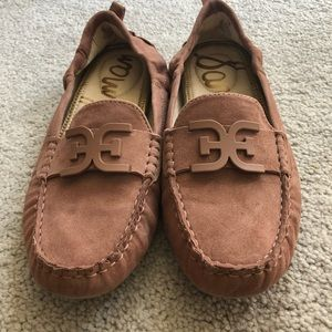 Sam Edelman NEW moccasins/driving shoes dusty pink